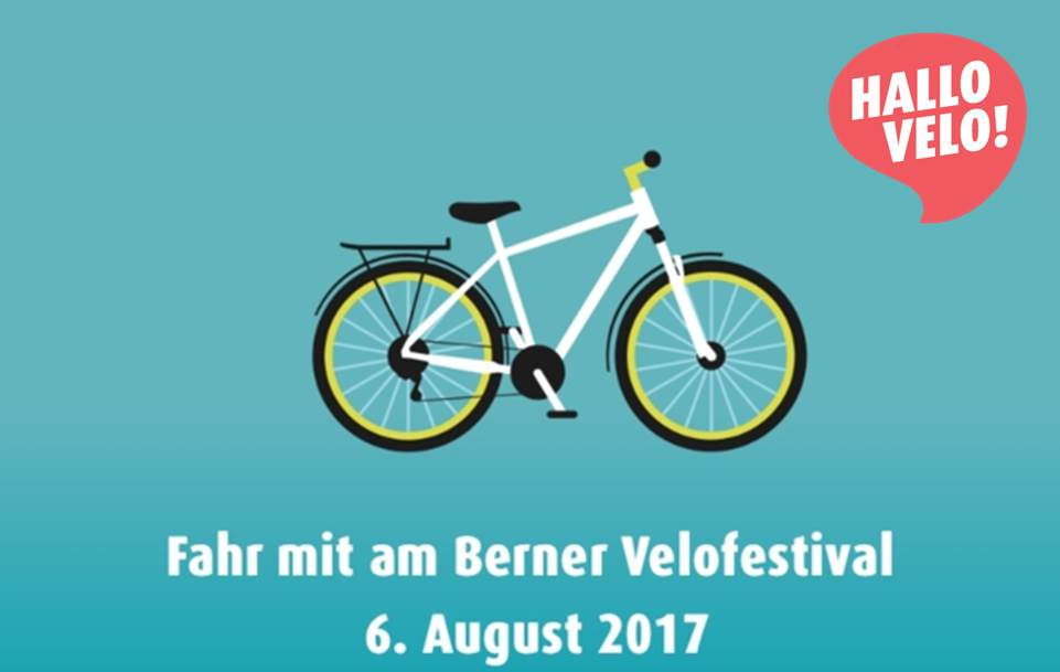Hallo Velo! Velofestival für die Stadt & Region Bern