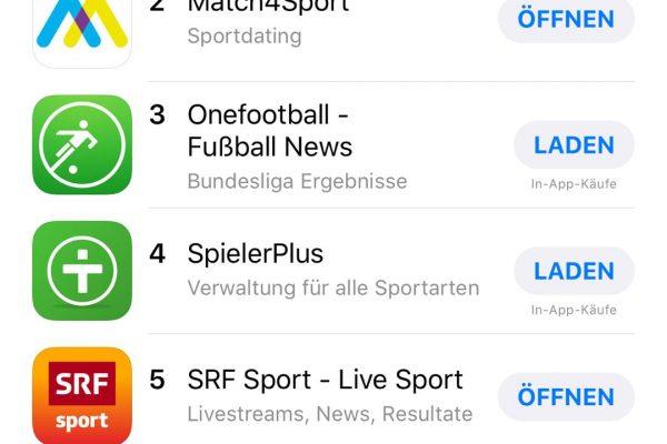 Match4Sports Charts