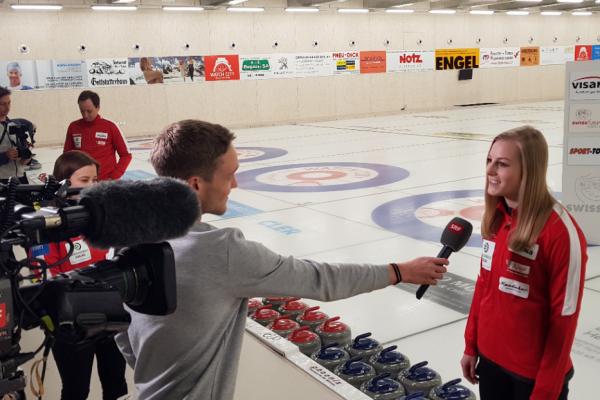 Media Kickoff Curling